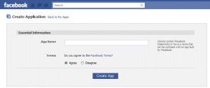 Facebook iFrame App Name