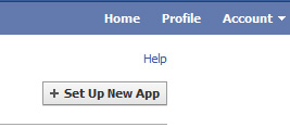 Set up Facebook Application