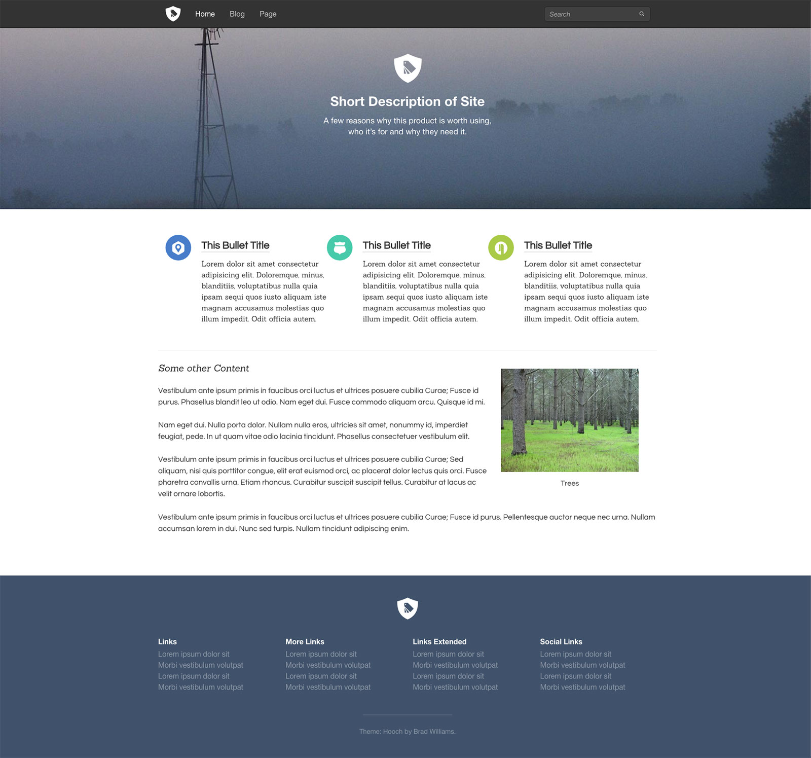 Hooch - Bourbon WordPress Theme