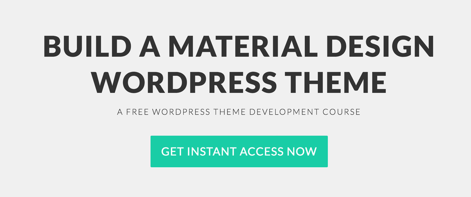 Material Design WordPress Tutorials